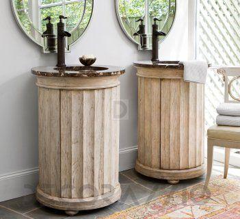 #bathroom #furniture #interior #design тумба под умывальник Ambellahome Sink Chests Petite, 24088-110-201