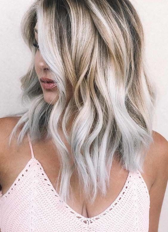 Amazing Combination Of Warm And Cool Blonds For Year 2018