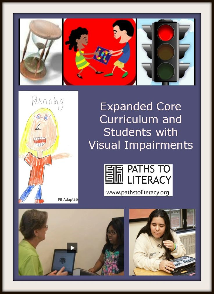 The Expanded Core Curriculum (ECC) provides a framework for instruction in a specialized set of vision-related skills for students who are b...