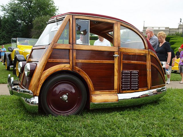 1950 Martin Stationette, one of three produced by Martin of New York. Car was chain driven and supposedly could do 107mph???