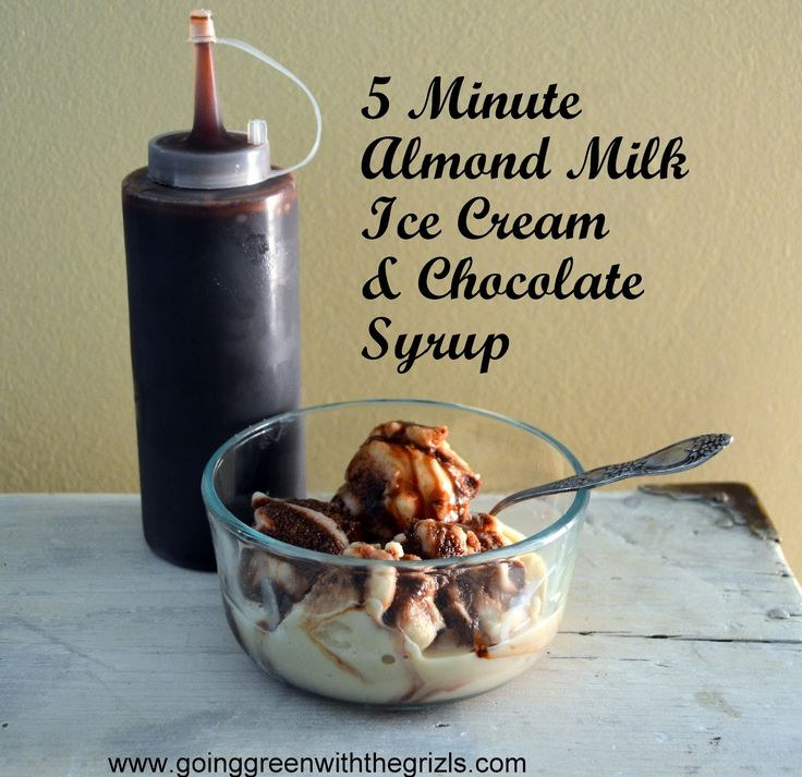 Best 25 almond milk ice cream ideas on pinterest homemade 5 minute homemade almond milk ice cream ccuart Gallery