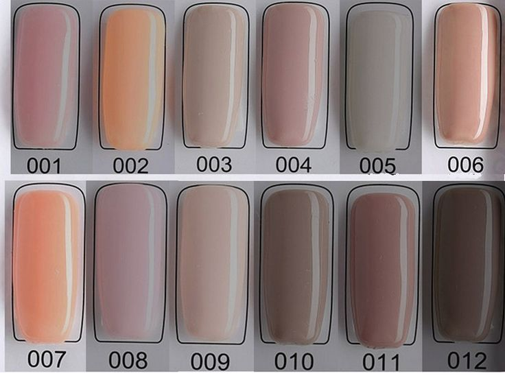 NUDE Color Series Art False nail gel Tips nail Gel Lacquer Pick 1 Color Color UV Builder Gel UV Gel Acrylic for Nail #Affiliate