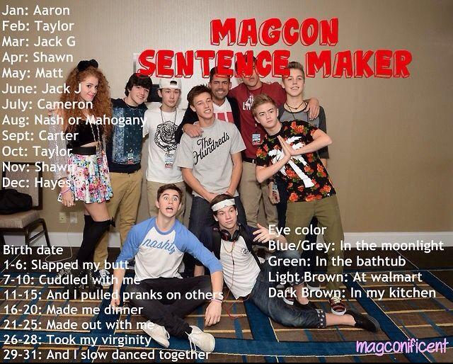 Magcon tour dates in Australia