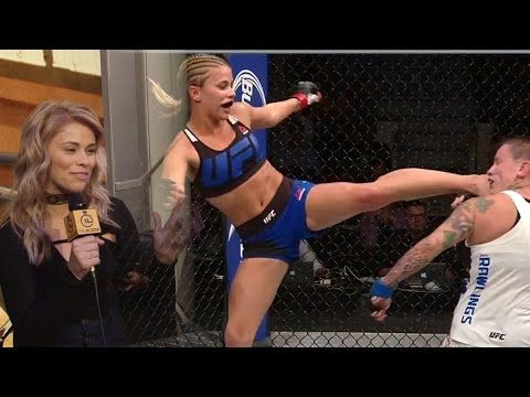 MMA Paige Van Zant tells us what to expect in her next fight against Michelle Waterson