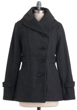 Granite State of Mind Coat, #ModClothMod Closets, Fashion, Mindfulness Coats, Granite States, Black Modcloth, Modcloth 294 99, Mod Clothing, Modcloth Com, I D Wear