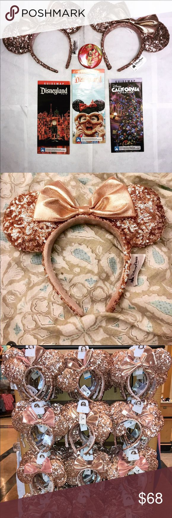 """GET (2) DISNEYLAND """"ROSE GOLD"""" MINNIE MOUSE EARS """"NOW AVAILABLE FOR A VERY LIMITED TIME""""   New DISNEYLAND """"ROSE GOLD"""" MINNIE MOUSE EARS   NOW WITH THIS OFFER YOU GET (2) DISNEYLAND """"ROSE GOLD"""" MINNIE MOUSE EARS .... AT A """"VERY LOW PRICE""""   THESE DISNEYLAND """"ROSE GOLD"""" MINNIE MOUSE EARS HAVE BEEN SELLING LIKE CRAZY !! .... DISNEYLAND CAN'T KEEP ENOUGH OF THESE IN STOCK ... MANY SELLERS ARE SELLING THESE """"ROSE GOLD"""" MINNIE EARS AT """"VERY HIGH PRICES"""" ON ( EBAY - AMAZON - INSTAGRAM ) STARTING AT…"""