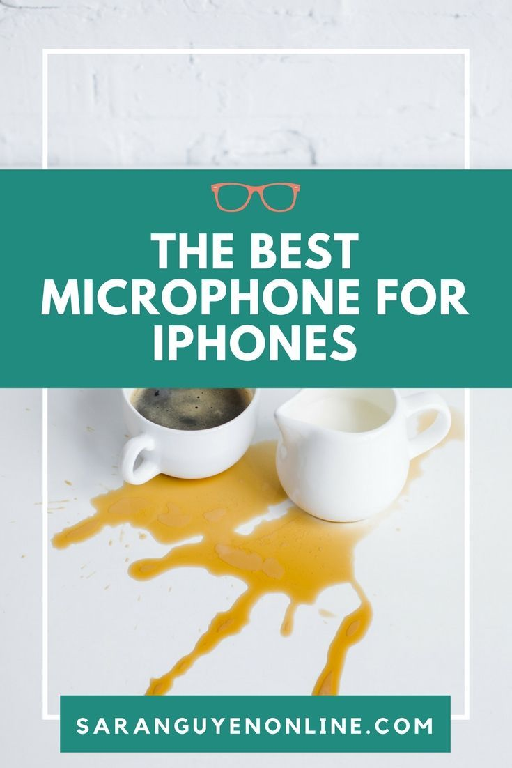 Want to know what the best microphones for iPhone are? See my top 3 microphone reviews for recording video with your iPhone. Click here to watch the video. #iphone #videomarketing #microphone #socialmedia #tech