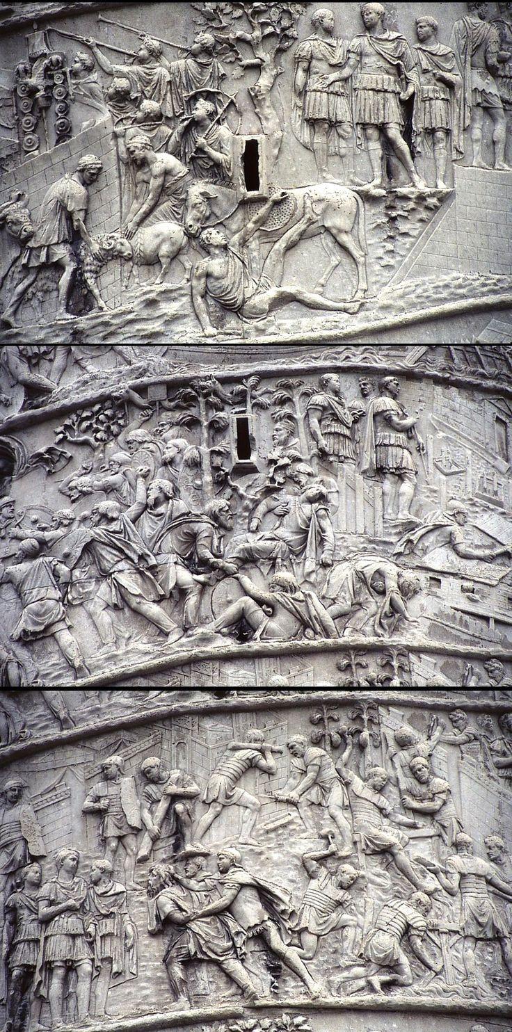 LUTIN SAVANT Rome-colone-Trajane-Trajan-Empreur-de-Rome-98-117-apJC-.
