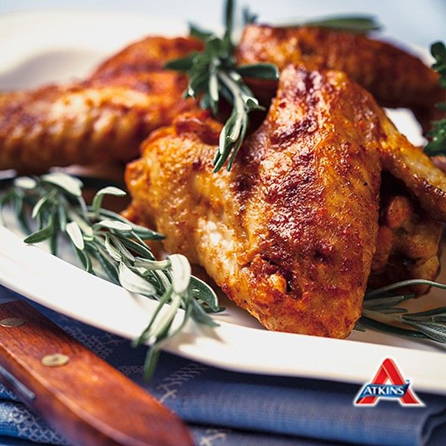 Atkins spicy maple chicken wings recipe