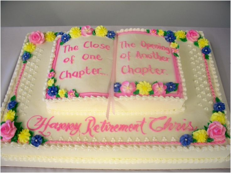Retirement Cake                                                       …                                                                                                                                                                                 More