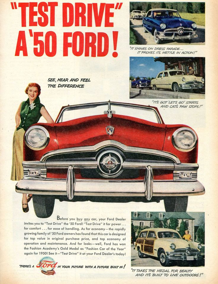 1950 Ford · Car PartsOld CarsVintage CarsClassic ...  sc 1 st  Pinterest & 44 best 1950 Ford images on Pinterest | Vintage cars Advertising ... markmcfarlin.com