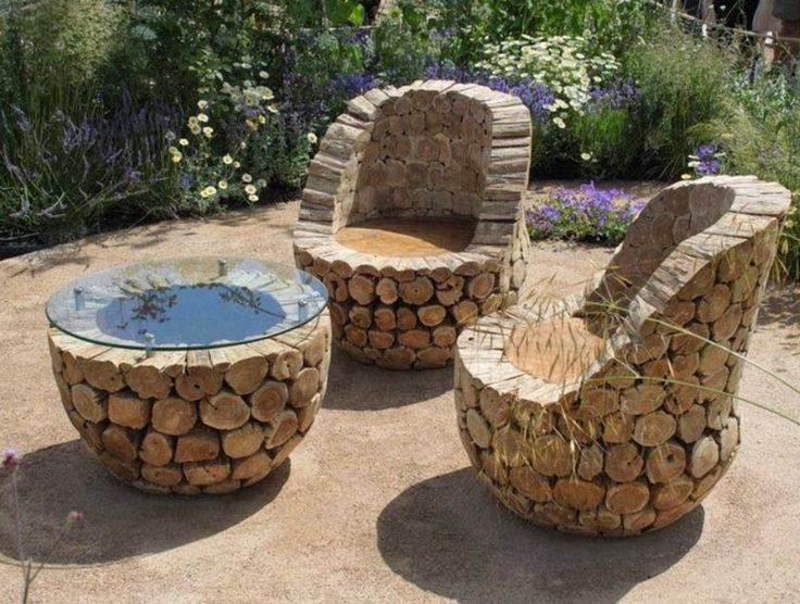 Unique Luxury Design Garden Chair