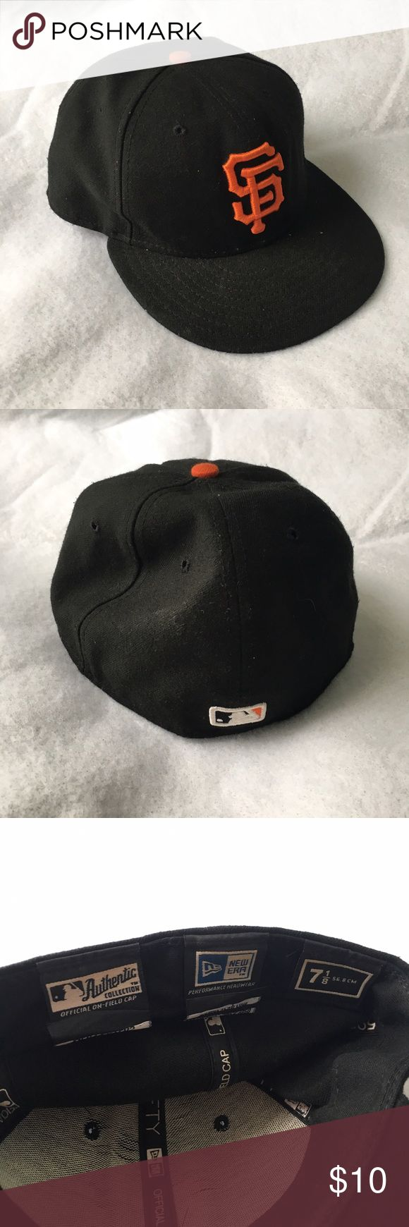 San Francisco Baseball Cap Used baseball cap. Got this at an Asher Roth concert when he threw it into the crowd (so it was his hat). New Era Accessories Hats