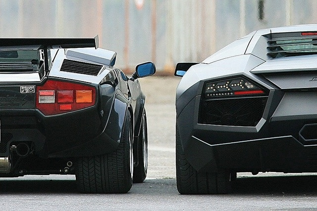 Lamborghini - Old vs. New