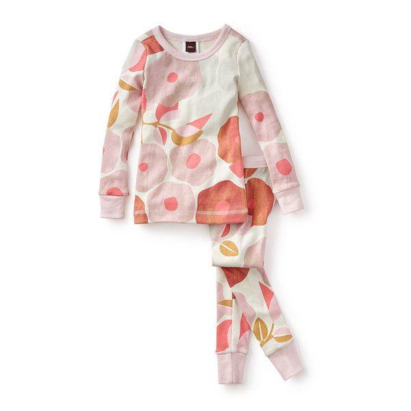 Tea Collection Tuscany Poppy Pajamas