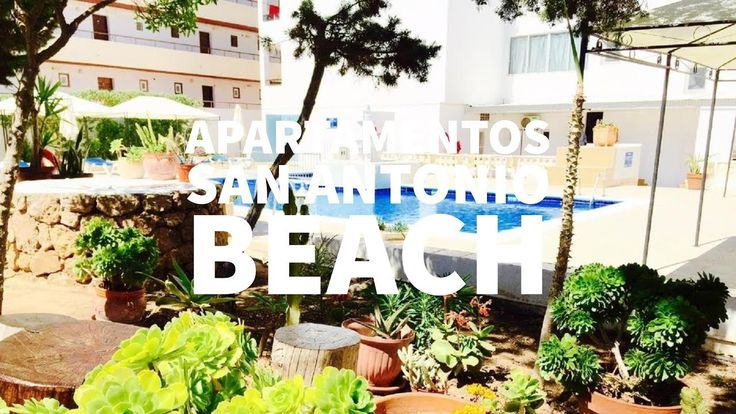 Hostal Apartamentos San Antonio Beach en San Antonio Bay, Ibiza, España