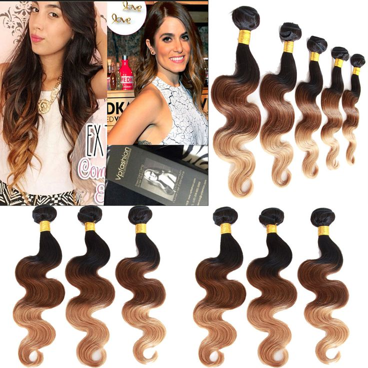 "Free US Ship 12""14""16"" Ombre Brazilian Virgin Body Wave Human Hair Extensions  #WIGISS #HairExtension http://www.ebay.com/itm/Free-US-Ship-12-14-16-Ombre-Brazilian-Virgin-Body-Wave-Human-Hair-Extensions-/361007671066?pt=LH_DefaultDomain_0&var=&hash=item92c36e510b"