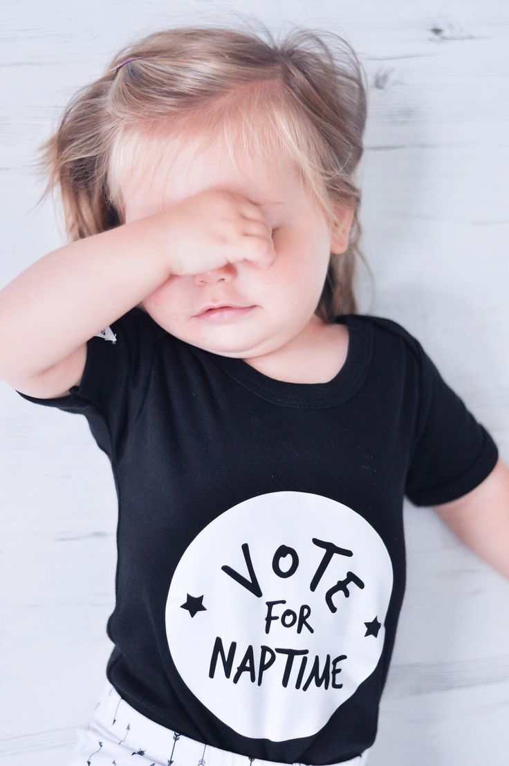 This fun and funky 'Vote for Naptime' bodysuit is perfect for your little babes, especially those who require more than a little persuasion in the sleep department! | www.kidultand.co