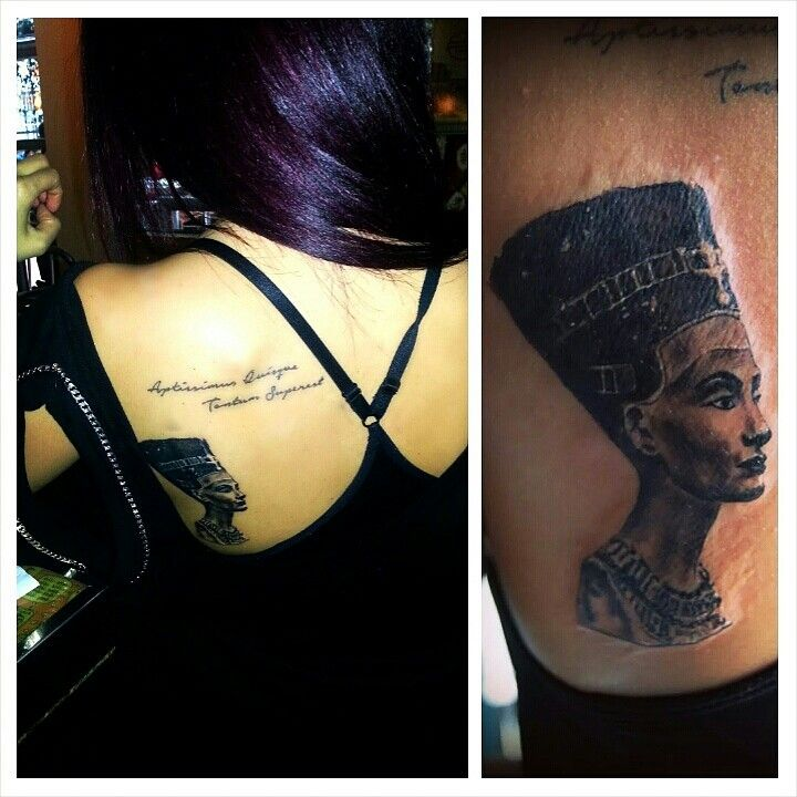 Queen Nefertiti Tattoo: 1000+ Images About Tattoo On Pinterest