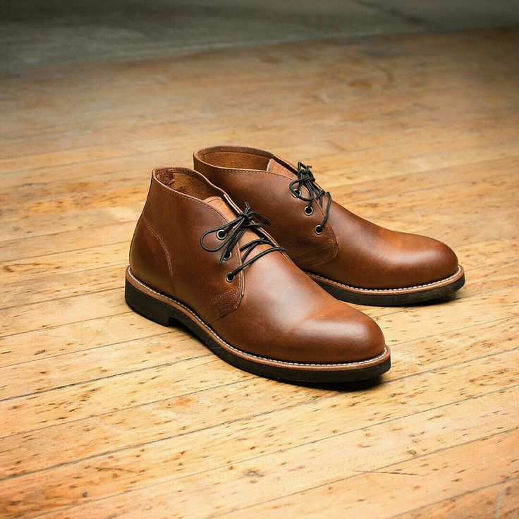 Comfortable, lightweight and versatile, the Foreman Chukka is now available  in North America featuring Copper Rough & Tough leather and a black  Neoprene ...