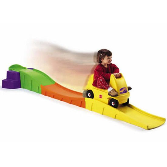 Step2 Up Down Roller Coaster Ride Car Toy Fun Family Picnic Kids Party Nursery #Step2