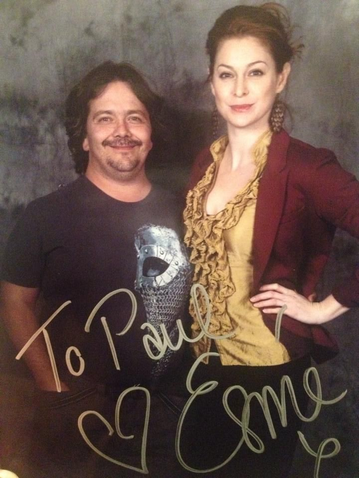 Myself and Esmé Bianco from Game of Thrones at the Lethbridge Comic Expo