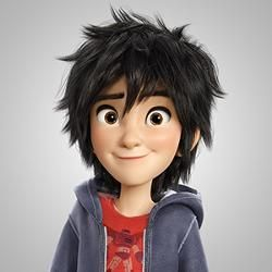 Hiro BH6 - Hiro Hamada is the main protagonist from Disney's 2014 animated feature film Big Hero 6. He is the founder and leader of Big Hero 6, a team of young superheroes. He is based on Hiro Takachiho from the Marvel comic Big Hero 6. He is voiced by Ryan Potter. Read more on Disney Wiki: http://disney.wikia.com/wiki/Hiro_Hamada