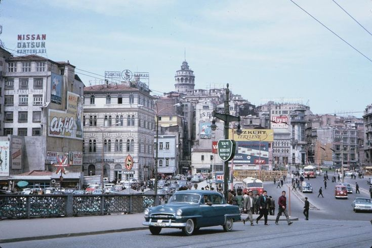 A few decades ago, the Istanbul dolmus was often an American classic car! Very cool videos and photos on Turcopedia.