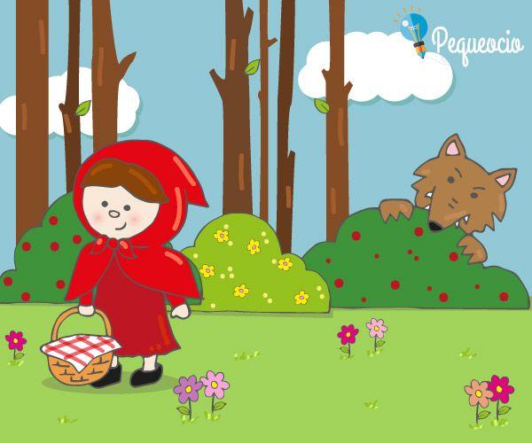 Caperucita Roja Pequeocio En 2020 Caperucita Roja Cuento Infantil Caperucita Roja Cuento Cuento Infantiles