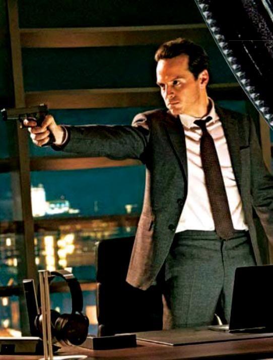 Andrew Scott in upcoming Bond movie, Spectre!