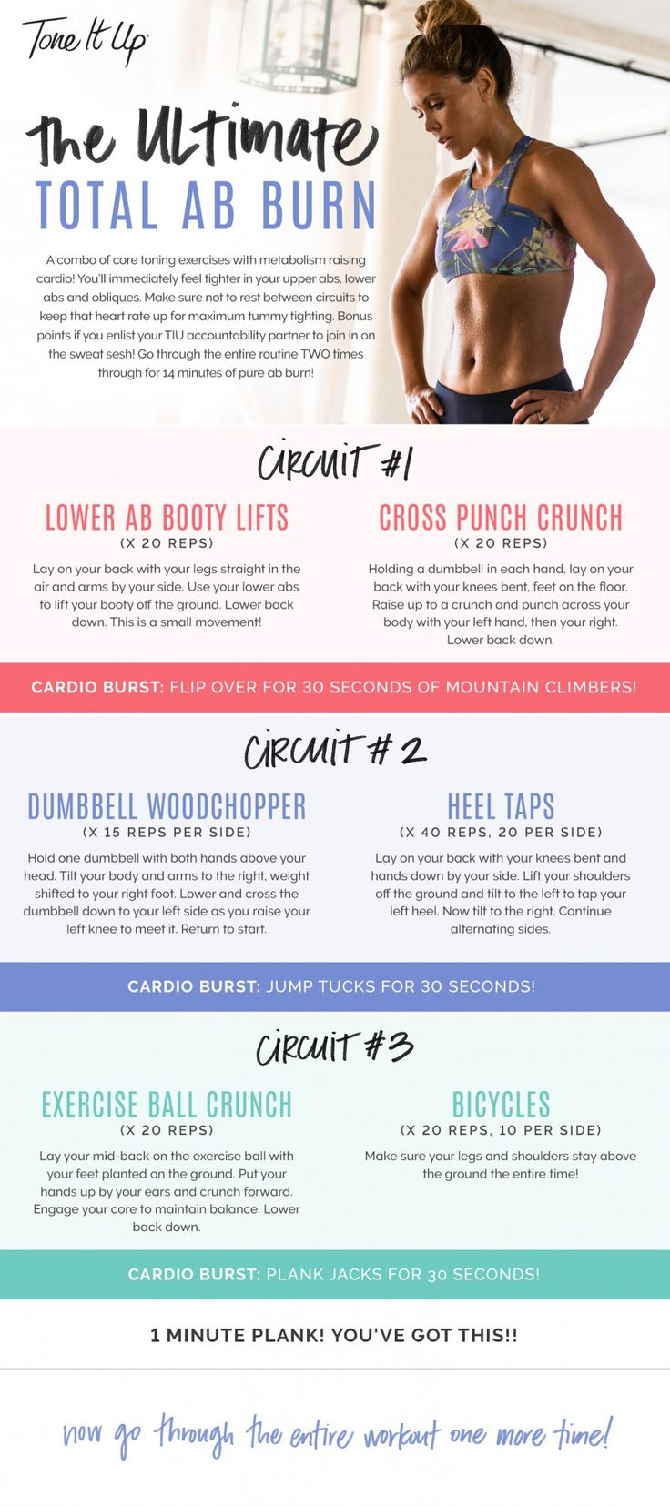 Best HIIT + Core workout to tone your abs!! Perfect for before the beach!