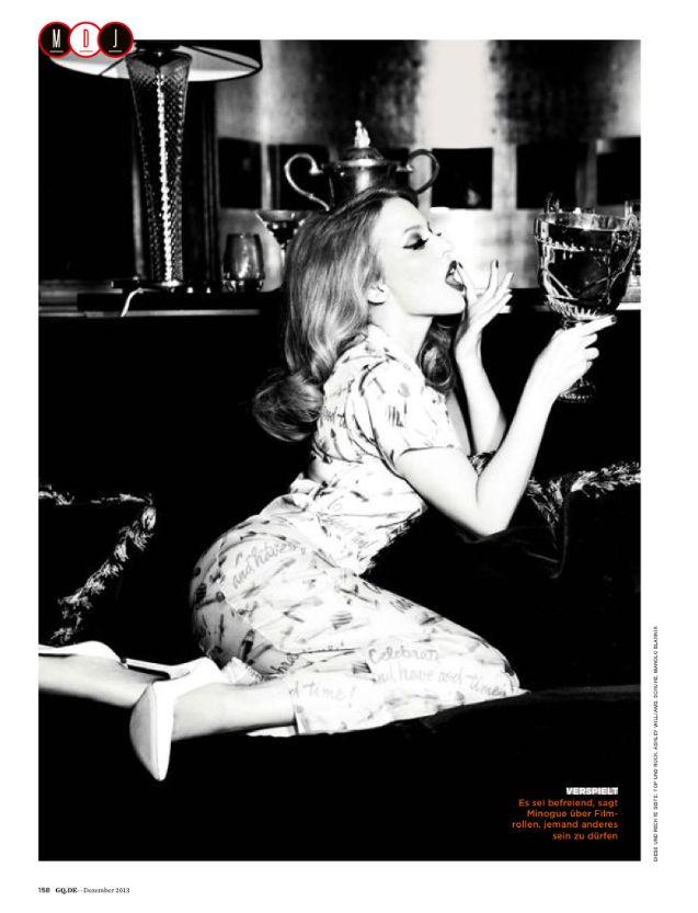 Kylie for GQ Deutschland magazine