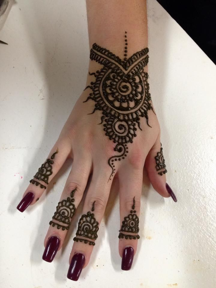 Mehndi Makeup Design : Best images about indian small mehndi henna design on
