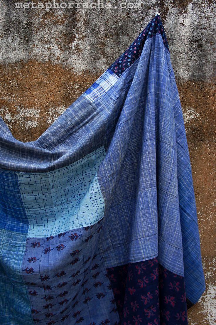 #homespun and #handwoven #khadi #quilt .