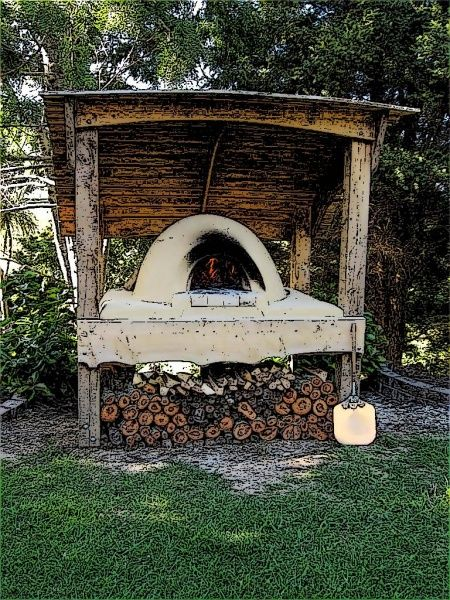 Clay Outdoor Ovens : Images about clay ovens oven shelters on pinterest