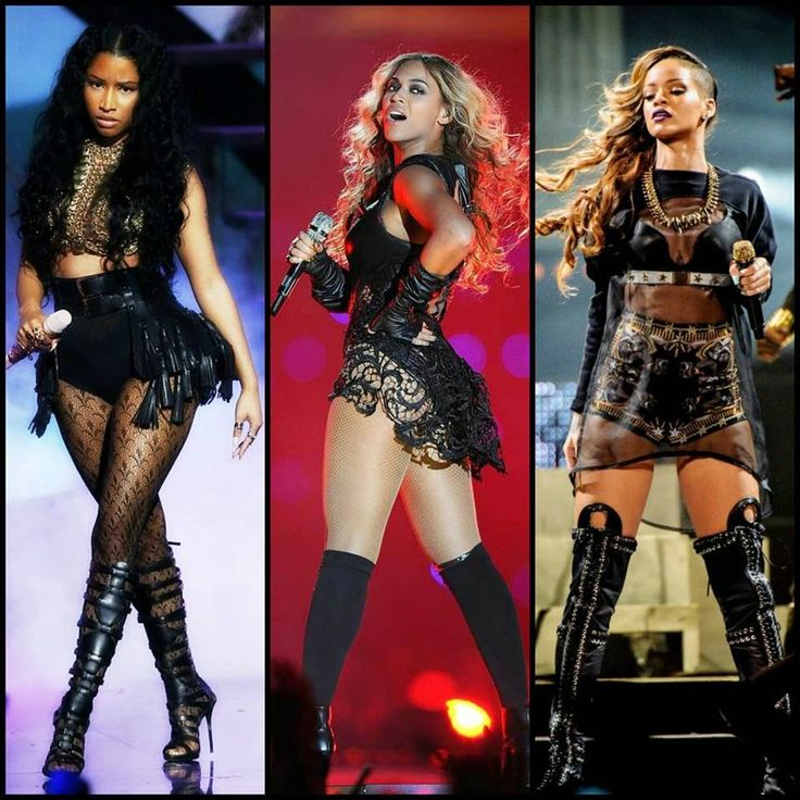 If the internet is good for nothing else, it can be relied upon for it's witty references and smart euphemisms. So if you're a regular on Tumblr, then you've seen Beyoncé, Rihanna, and Nicki Minaj referenced collectively as the Holy Trinity of contemporary Black women artists/performers. According to the Bible, the Holy ...