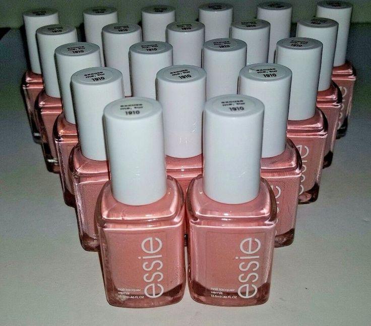 20 Essie Wholesale Nail Polish Pink Baby Bridal Shower Party Favor Bulk Lot Essie Pink Nail