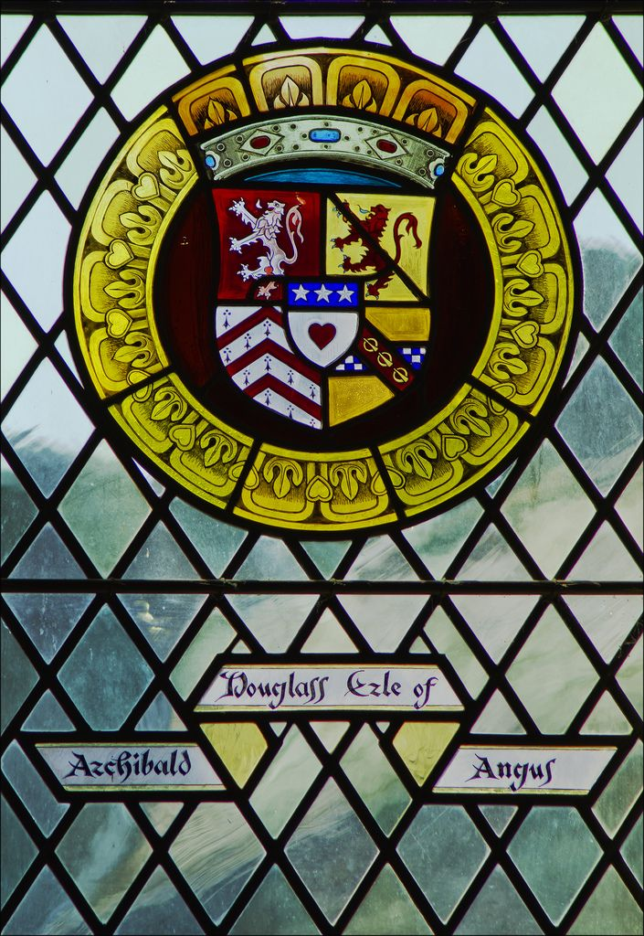 Archibald Douglas, Earl of Angus. Stained Glass Window