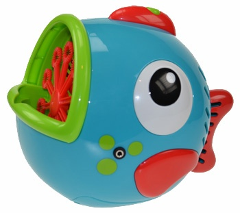 Freddie Fish Bubbles switch adapted bubble machine. £52.80
