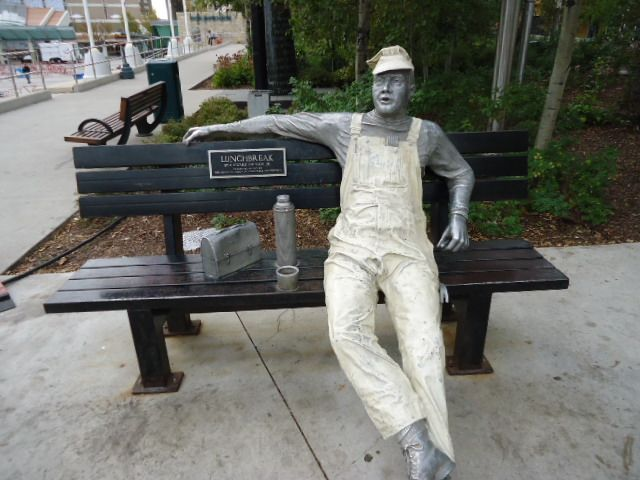 17 best images about statues and welded sculptures on for John seward johnson