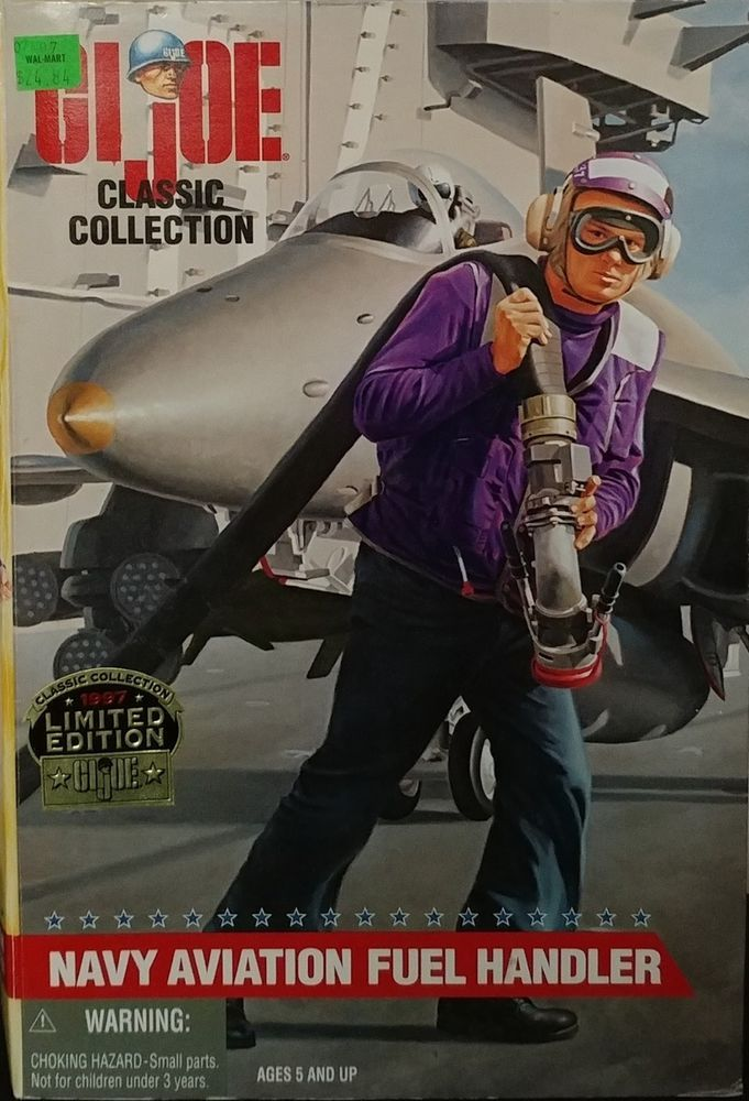 GI JOE Navy Aviation Fuel Handler 1997 Classic Collection Limited Edition Hasbro #HasbroKenner