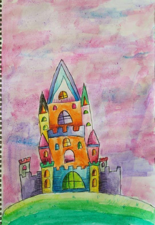 Pen & Washes Castle