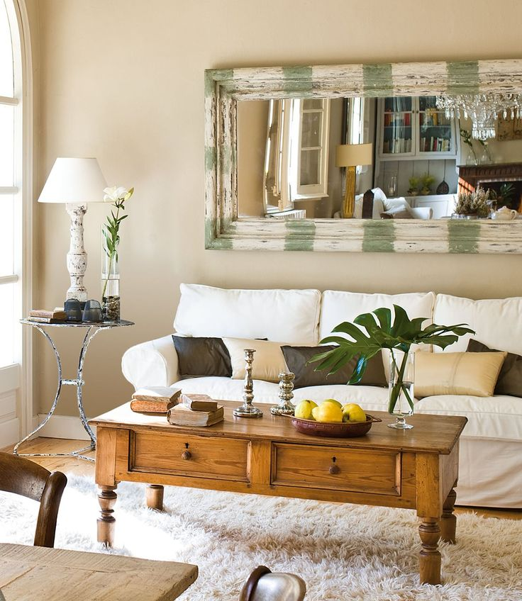 Las 25 mejores ideas sobre salas de estar de moda en - Decorar mesas de centro ...