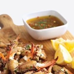 Check out this Marinated Crab Claws recipe from LouisianaSeafood.com