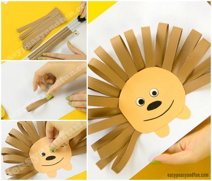 Paper Strips Hedgehog - Easy Peasy and Fun | Fall paper crafts, Fall crafts  for kids, Paper strips