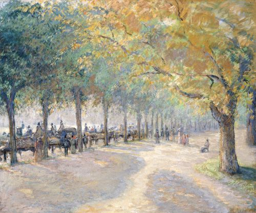 Hyde Park, London, 1890 by Camille Pissarro - art print from King & McGaw