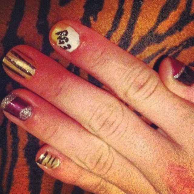 127 best WOW Redskins Nails images on Pinterest | Nail scissors ...