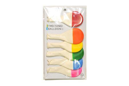 two tone balloons