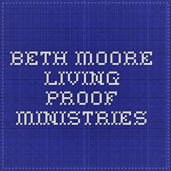 online lessons and interaction.  Beth Moore - Living Proof Ministries