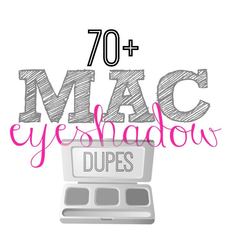 70+ MAC Eyeshadow Drugstore Dupes - This Girl's Life Blog